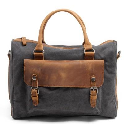 Guaranteed Genuine LeatherCanvas Mens Bags Famous Brand Designer Men Messenger Bags Shoulder Bags Large Laptop Bag Briefcase