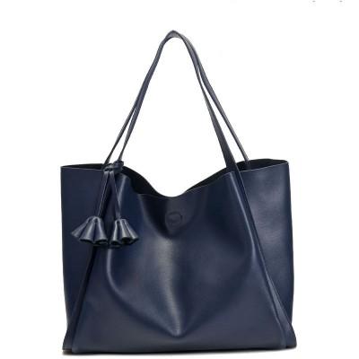 Large Handbags Women Genuine Leather Cowhide Soft Solid Hasp Shoulder Tote Bag Bags Bolsas Feminina Pequenas Handbag Designer