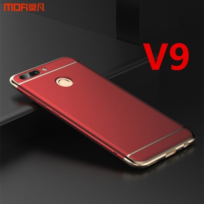 "Huawei honor v9 case cover back case MOFi original honor v9 case luxury 3 in 1 capa coque funda huawei V9 accessories red 5.7"" Phone Cases For huawei"
