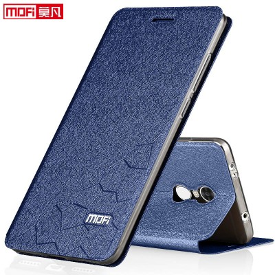Mofi xiaomi redmi note 4 global version case book flip luxury leather silicone funda mofi phone case xiaomi redmi note 4 global cover