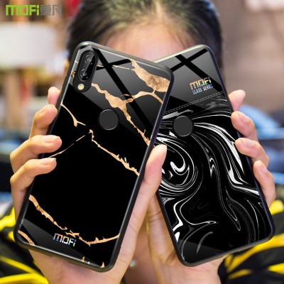 Huawei P20 Lite Case Mofi Huawei Nova 3E Case Cover Tempered Glass Phone Case for Huawei P20 Lite Huawei Nova 3E
