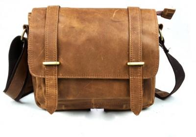 2014 genuine leather bag men shoulder laptop leather bag crazy horse leather messenger bag