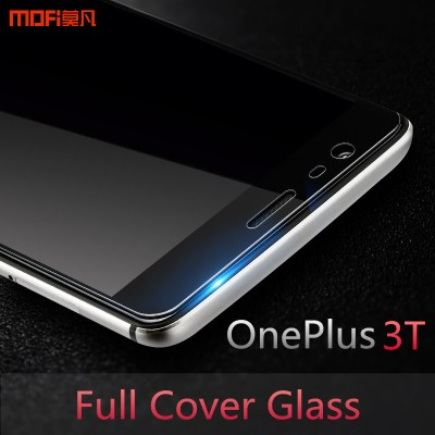 oneplus 3T tempered glass MOFi original oneplus 3 tempered glass oneplus 3 3T screen protector oneplus 3 glass accessories 5.5""