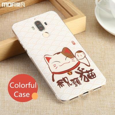 "Huawei mate 9 case cover mate 9 cover soft TPU back cover transparent MOFi original mate9 accessories sillicone ultra clear 5.9"" Phone Cases For huawei"