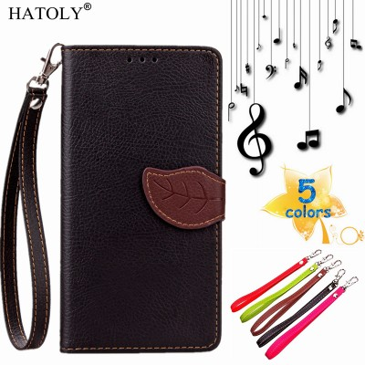 For Huawei Y5C Flip Case Leaf Leather Case for Huawei Y541 Wallet Cover For Huawei Honor Bee Phone Shell Card Holder