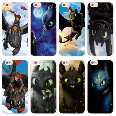 Brand MaiYaCa How to Train Your Dragon Toothless for iphone 7 7plus 8 8plus X XS XR phone case For Apple iphone 5 5s SE 6 Phone case