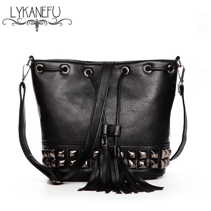 04d9350d777e Fashion New Bucket Bag For Women Messenger Bags Small ...