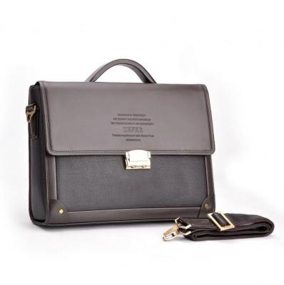 2019 New Man Handbag Genuine Leather Business Messenger Bag Men Computer Shoulder Bag Delicate Ad Luxurious Maleta Briefcase A27