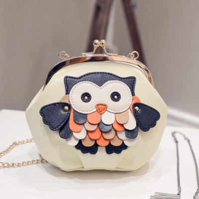 veevanv the new spring and summer 2019 handbag fashion style handbag owl shell bag chain single shoulder bag leather trend