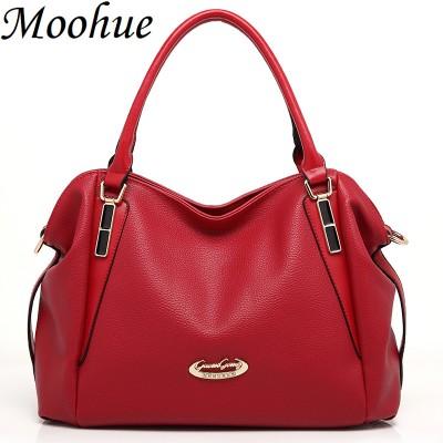 2019 Hot sale fashion luxury handbags women large capacity casual bag ladies pu leather office tote bags bolsos feminina