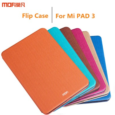MOFi Case for Xiaomi mi pad 3 case cover flip case stand cover mipad 3 Tablet full cover blue orange protective xiaomi