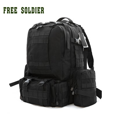 lightweight hiking backpack best day hiking backpack FREE SOLDIER 100% nylon camping hiking traveling outdoor tactical large combination backpack mountaineering bags waterproof hiking backpack