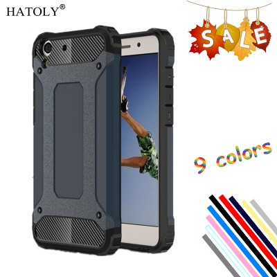 Cover Huawei Y6 II Case Silicone Rubber Armor Protective Hard ...