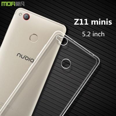 nubia z11 mini s case ZTE z11 minis case cover MOFi original mini s minis cover soft TPU back case accessoried transparent 5.2