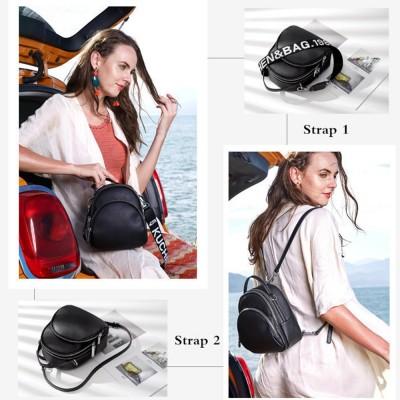 Multifunction Backpack Female Genuine Leather Ladies Shoulder Bags Brand Small Women Backpack