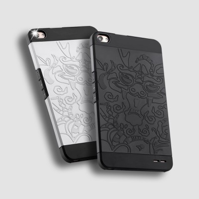 For Huawei Honor X2 case cover,carve patterns High Quality dragon armor silicone pc Case for Huawei Honor X2 MediaPad X2 Cover Phone Cases For meizu