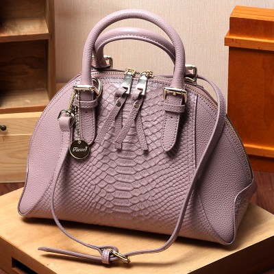 Genuine Leather Women Shell BagHandbags 2019 New Fashion Snakeskin ladies' Tote Shoulder Bag Messenger Bag~High Quality~215