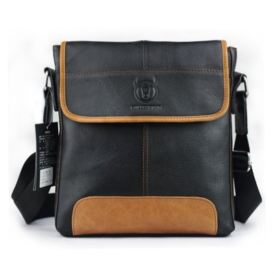 2019 New fashion men small messenger bags genuine leather vintage men bags luxury brand design men shoulder Bag briefcase