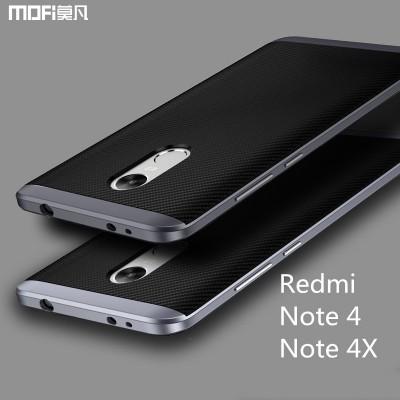 Xiaomi redmi note 4X case cover redmi note 4 case MOFi back case note4x capa coque funda 2 in 1 joint TPU soft case PC frame 5.5