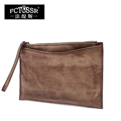 Women Purse 2017 Vintage Genuine Leather Bag Casual Day Clutch Original Design Women Bags