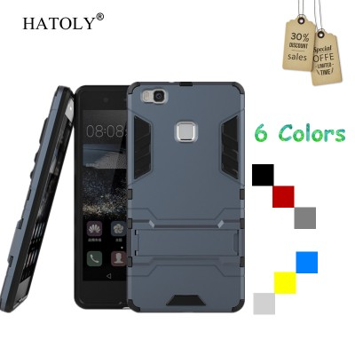 Cover Huawei P9 lite Case Rubber Robot Armor Hard Back Phone Case for Huawei P9 lite Cover for Huawei P9 lite 2016 Case