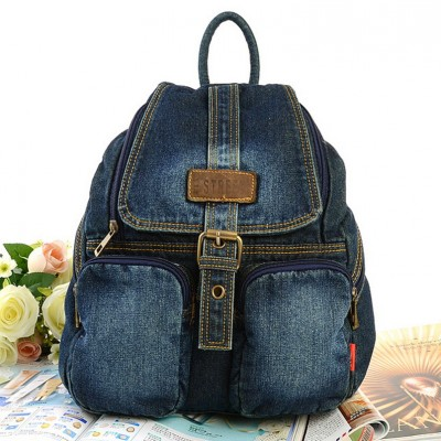 Backpacks for Girls Hot Sale Women backpacks For Girl Teenagers Vintage Denim bags Backpack School Bag Pack travel Bag