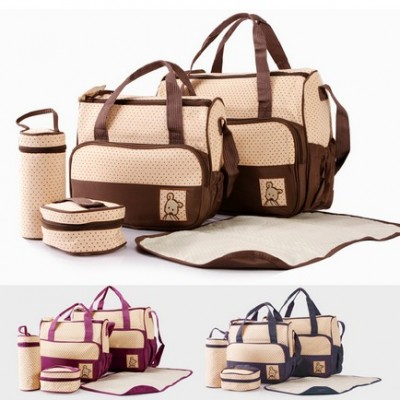 Multifunctional Mummy maternity baby nappy bags diaper handbag tote organizer bag travel storage bag bolsas de bebe maternidade