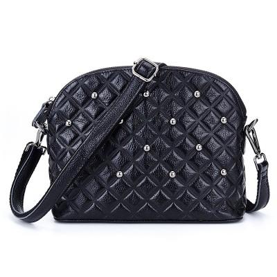 Fashion Women Shell Bag 5 Colors Genuine Leather Women Shoulder Messenger Bag Handbags Cross Body Lady Bags