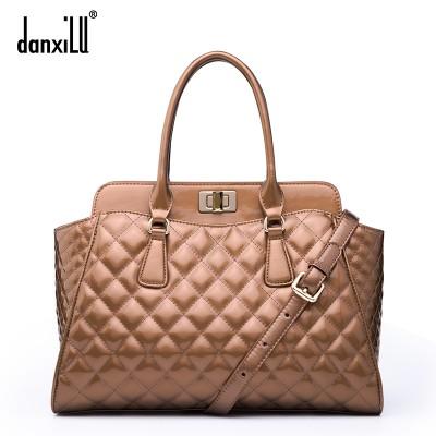 Platinum woman's handbag The New Quilted Women's Bag Shoulder bag JSH