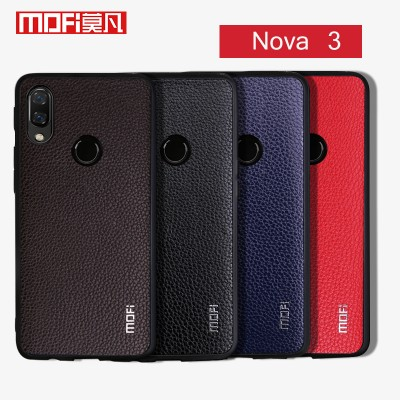 Huawei Nova 3 Case Huawei Nova 3 Case Cover Mofi For Huawei Nova 3 Pu Leather Back Cover for Huawei Nova 3