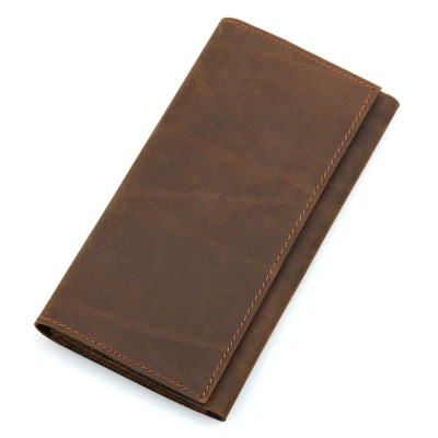 2019 New Genuine Leather Casual Men Wallets Purse Real Male Clutch Pochette Long Slim Mens Card Holder For Man