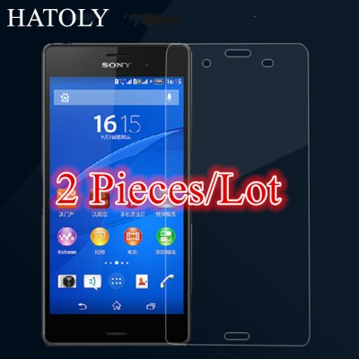 For Glass Sony Xperia Z3 Tempered Glass for Sony Xperia Z3 Screen Protector for Sony Z3 Glass D6603 D6653 D6616 L55T