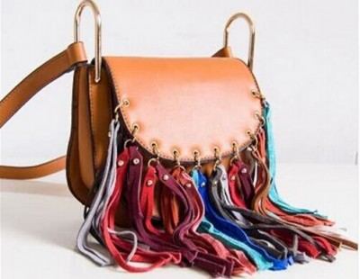 Sexy Bag women fashion fringes bag sexy tassel European style street looks messenger bags women