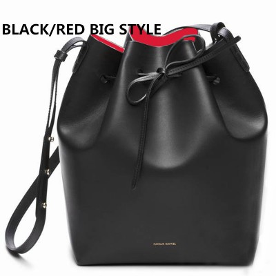 Newest Mansur Gavriel bucket bag women genuine leather hand bag lady real leathe shoulder bag cross bag