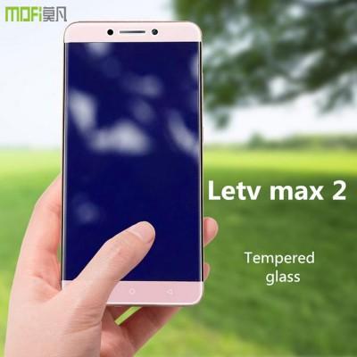 letv max 2 glass MOFi original letv lecco le max 2 x820 tempered glass screen protector HD anti glare front guard 5.7 inch