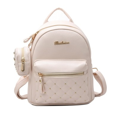 2019 New Brand Summer Vintage Retro Lady PU Leather Bag Small Women Mini Backpack School Bags for Teenagers girls