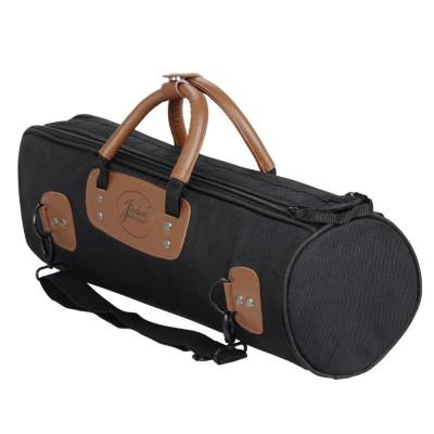 Wholesale new design professional portable durable trumpet bass bag backpack shoulder straps soft gig case padded cover pocket