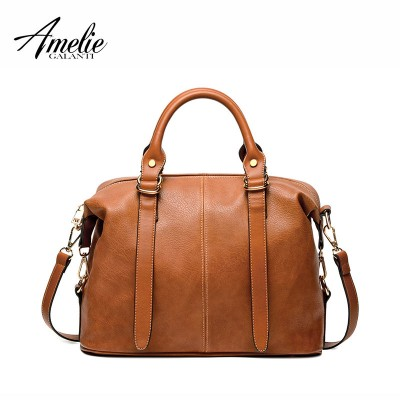 AMELIE GALANTI women luxury fashion handbags 2019 famous brand woman bags women shoulder bags solid bolsos casual totes