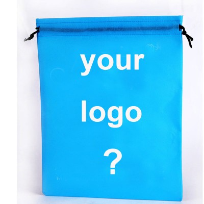 200pcs!50%-60% shipping cost,custom string bag non woven,drawstring bag logo custom,print your logo shoes bag,make size color