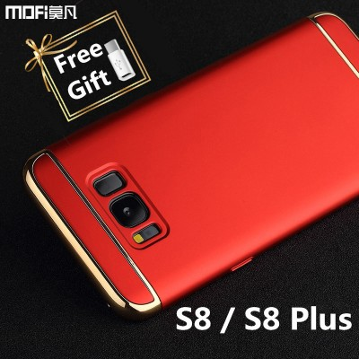 MOFi Case for samsung s8 case cover s8+ galaxy s8 plus case MOFi original 3 in 1 back cover hard luxury capa coque funda