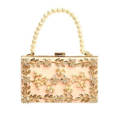 Sexy Bag 2019 fashion Women's Pearl Bag Beaded Diamond Evening Bag sweet sexy Clutch Purse Handbag chain shoulder bags tote bags