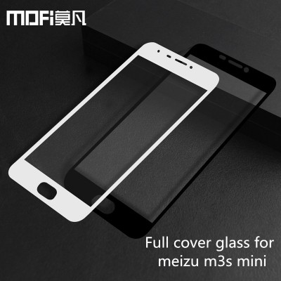 meizu m3s mini glass full screen protector for m3s mini tempered glass film mofi original anti-explosion with package 5 inch