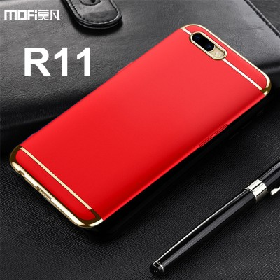 MOFi Case for OPPO R11 case cover MOFi original oppo r11 plus case luxury 3 in 1 joint hard back capa coque funda