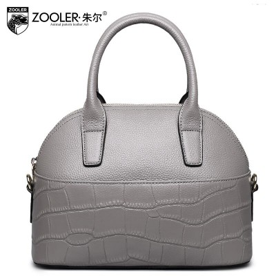 ZOOLER Women bag New Superior cowhide leather bag brands fashion Crocodile Genuine Leather Tote women handbags bag shell