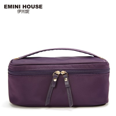 EMINI HOUSE High Quality Nylon Cosmetic Bag Multifunction Makeup Bag Handbags Women Bags High Capacity Cosmetic Holder