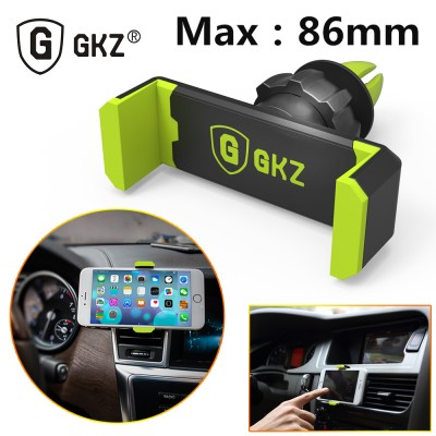 Mobile Cell Phone Holder for Car GKZ K1 Universal Car Phone Holder For Iphone 6 Plus Air Vent Frame Mount For Samsung S5 S6 Mobile Phone Holder GPS Stand Holder