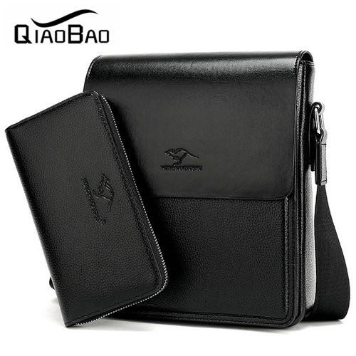 b13a87234a77 (With a Wallet) Brand Bag Men Messenger Bags Men s Crossbody ...