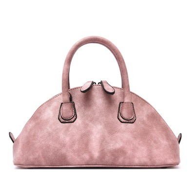 Solid Scrub Shell Bags Women's Leather Handbag Tote With Zipper Top-Handle Bags Messenger Bag Shoulder 2019