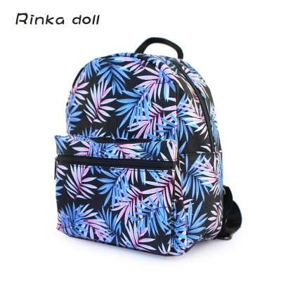 NEW Fashion Colorful Mini Backpacks teenage girls Student Canvas backpack school bag women Casual style