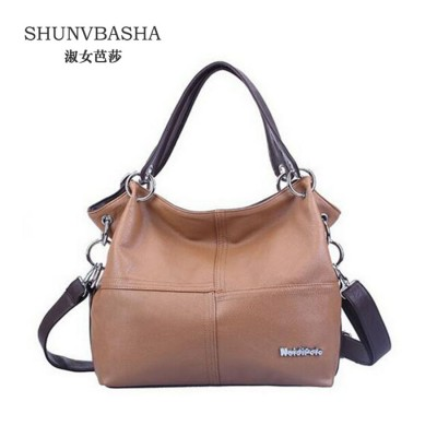 2019 Vintage Women's PU Leather Handbags Female High Quality Shoulder Bags Ladies All-Match Messenger Bags Bolsas Casual Tote